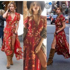 Ralph lauren denim & supply Floral wrap dress XXS
